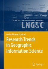 Research Trends in Geographic Information Science