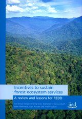 Incentives to Sustain Forest Ecosystem Services
