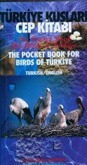 The Pocket Book for Birds of Turkey / Türkiye Kuşlari cep Kitabi