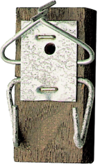 Bird Nest Box Hanging Block