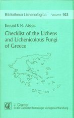 Checklist of the Lichens and Lichenicolous Fungi of Greece