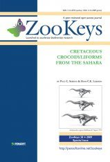 ZooKeys 28: Cretaceous Crocodyliformes from the Sahara