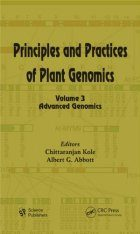 Principles and Practices of Plant Genomics, Volume 3