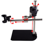 MS36B Dino-Lite Pole Stand with Focusing Holder and Boom Arm