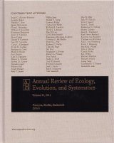 Annual Review of Ecology, Evolution, and Systematics, Volume 42