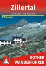Bergverlag Rother Hiking Guides: Zillertal in Austria [German]