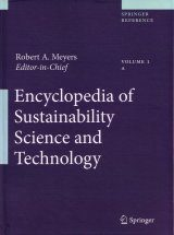 Encyclopedia of Sustainability Science and Technology (12-Volume Set)