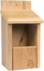 CedarPlus OpenFront Wooden Flycatcher Box