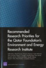 Recommended Research Priorities for the Qatar Foundation's Environment and Energy Research Institute