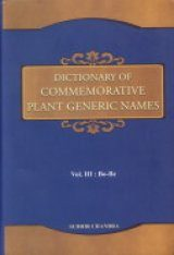 Dictionary of Commemorative Plant Generic Names, Volume 3: Bo-Bz