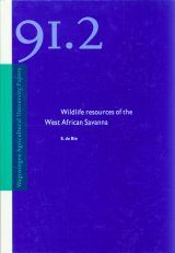 Wildlife Resources of the West African Savanna