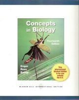 Concepts in Biology (International Edition)