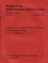Bulletin of the British Museum (Zoology), Vol. 32, No. 4
