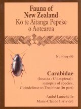 Fauna of New Zealand, No 69: Carabidae (Insecta: Coleoptera)