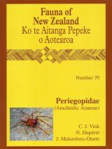 Fauna of New Zealand, No 70: Carabidae Periegopidae (Arachnida: Araneae)