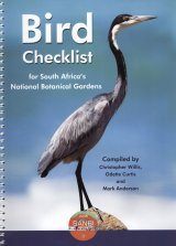 Bird Checklist for South Africa's National Botanical Gardens