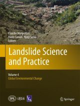 Landslide Science and Practice, Volume 4