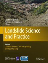 Landslide Science and Practice, Volume 1