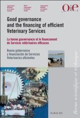 Good Governance and Financing of Efficient Veterinary Services