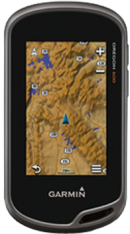 Garmin Oregon 600 with 1:50k GB Discoverer Mapping Software