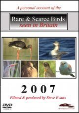 Rare & Scarce Birds Seen in Britain 2007 (All Regions)