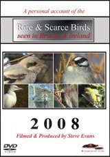 Rare & Scarce Birds Seen in Britain & Ireland 2008 (All Regions)