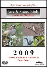 Rare & Scarce Birds Seen in Britain 2009 (All Regions)