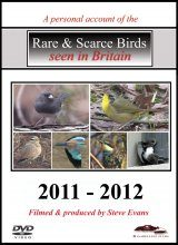 Rare & Scarce Birds Seen in Britain 2011-2012 (All Regions)