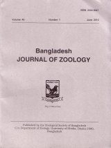Bangladesh Journal of Zoology, Volume 40, No. 1