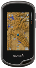 Garmin Oregon 600t with 1:50k GB Discoverer Mapping Software