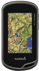 Garmin Oregon 650t with 1:50k GB Discoverer Mapping Software