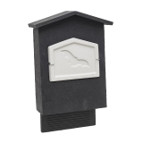 Low Profile WoodStone Bat Box