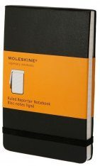 Moleskine Reporter Pocket Notebook  - Ruled