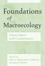 Foundations of Macroecology