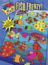 Fish Frenzy! (Dover 3-D Coloring Book)
