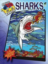 Sharks (Dover 3-D Coloring Book)
