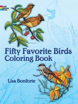 Fifty Favourite Birds Colouring Book