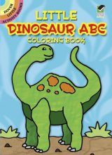 Little Dinosaur ABC Coloring Book