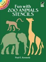 Fun with Zoo Animals Stencils