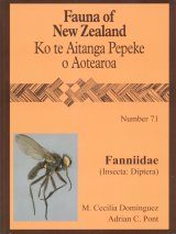Fauna of New Zealand, No 71: Fanniidae (Insecta: Diptera)