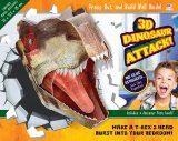 3D Dinosaur Attack! - Press Out & Build Wall Art
