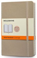 Moleskine Khaki Beige Pocket Notebook  - Ruled