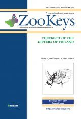 ZooKeys 441: Checklist of the Diptera of Finland