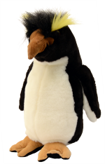 Royal Penguin Soft Toy