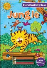 Stencil Activity Book: Jungle