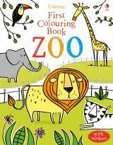 First Colouring Book: Zoo