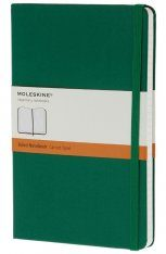 Moleskine Green Large Notebook  - Ruled