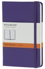 Moleskine Extra Small Violet Notebook  - Ruled