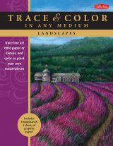 Landscapes: Trace Line Art onto Paper or Canvas, and Color or Paint Your Own Masterpieces
