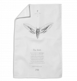 Privet Hawk Moth Tea Towel